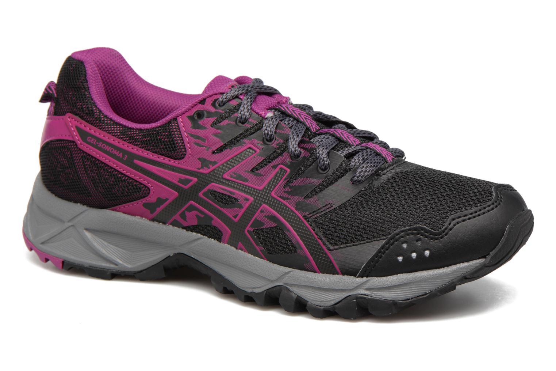 Grandes descuentos últimos zapatos Asics Gel-Sonoma Zapatillas 3 W (Negro) - Zapatillas Gel-Sonoma de deporte Descuento 75943d