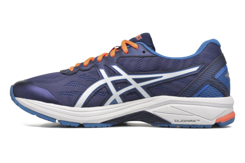 Chaussures de sport Asics GT-1000 5 Bleu vue face