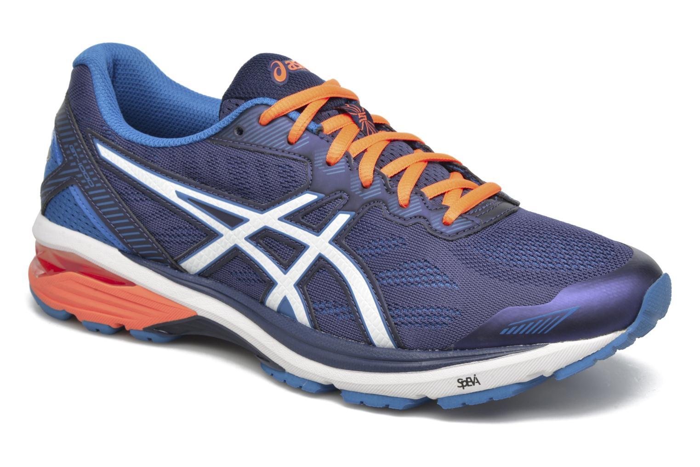 Chaussures de sport Asics GT-1000 5 Bleu vue détail/paire