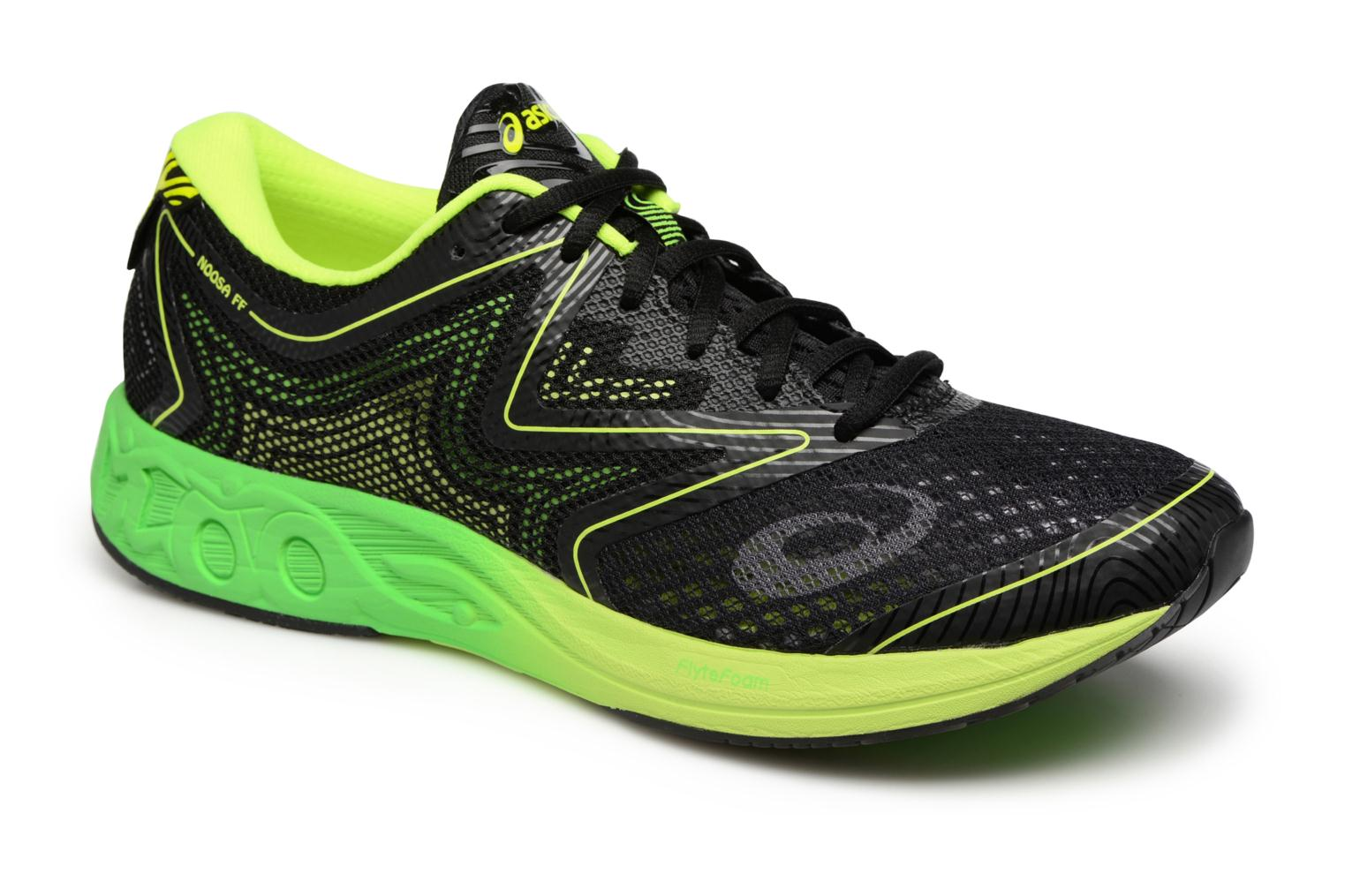 Sport shoes Asics Noosa FF Black detailed view/ Pair view
