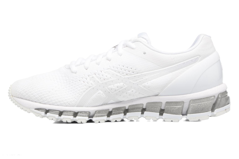 Scarpe sportive Asics Gel-Quantum 360 Knit Bianco immagine frontale