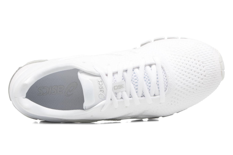 Scarpe sportive Asics Gel-Quantum 360 Knit Bianco immagine sinistra