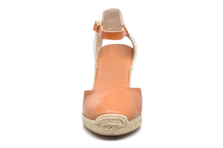 Espadrilles Maypol Nantes Marron vue portées chaussures