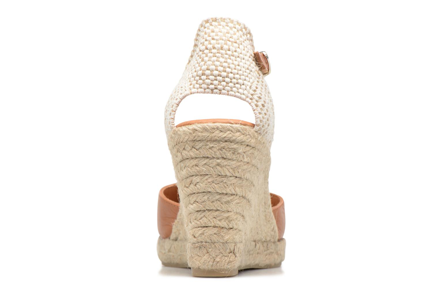Espadrilles Maypol Nantes Brown view from the right