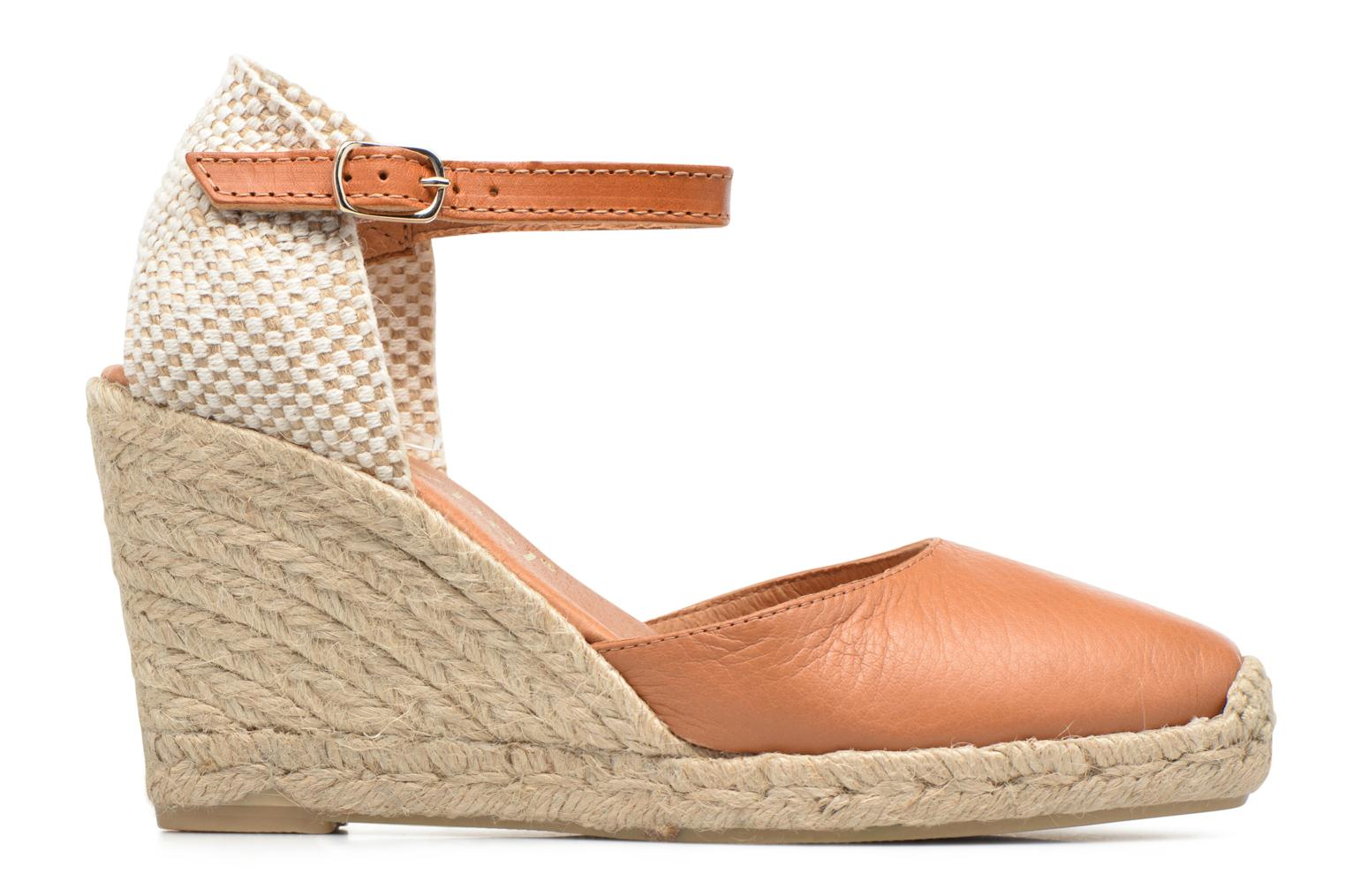 Espadrilles Maypol Nantes Brown back view