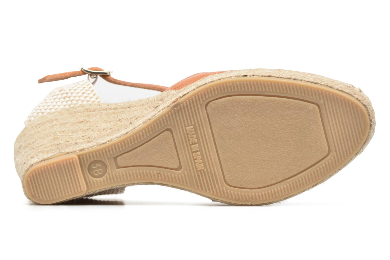 Espadrilles Maypol Nantes Brown view from above