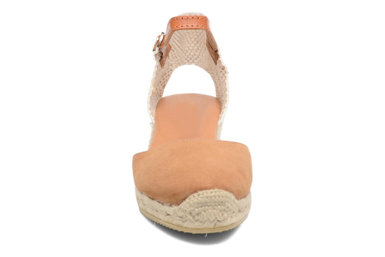 Espadrilles Maypol Macaret 2 Marron vue portées chaussures