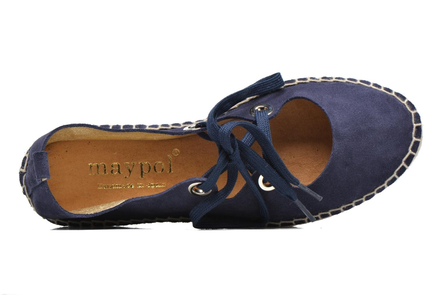 Espadrilles Maypol Sara Blue view from the left