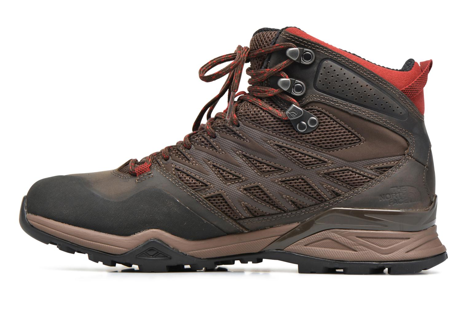 Chaussures de sport The North Face Hedgehog Hike Mid GTX Marron vue face