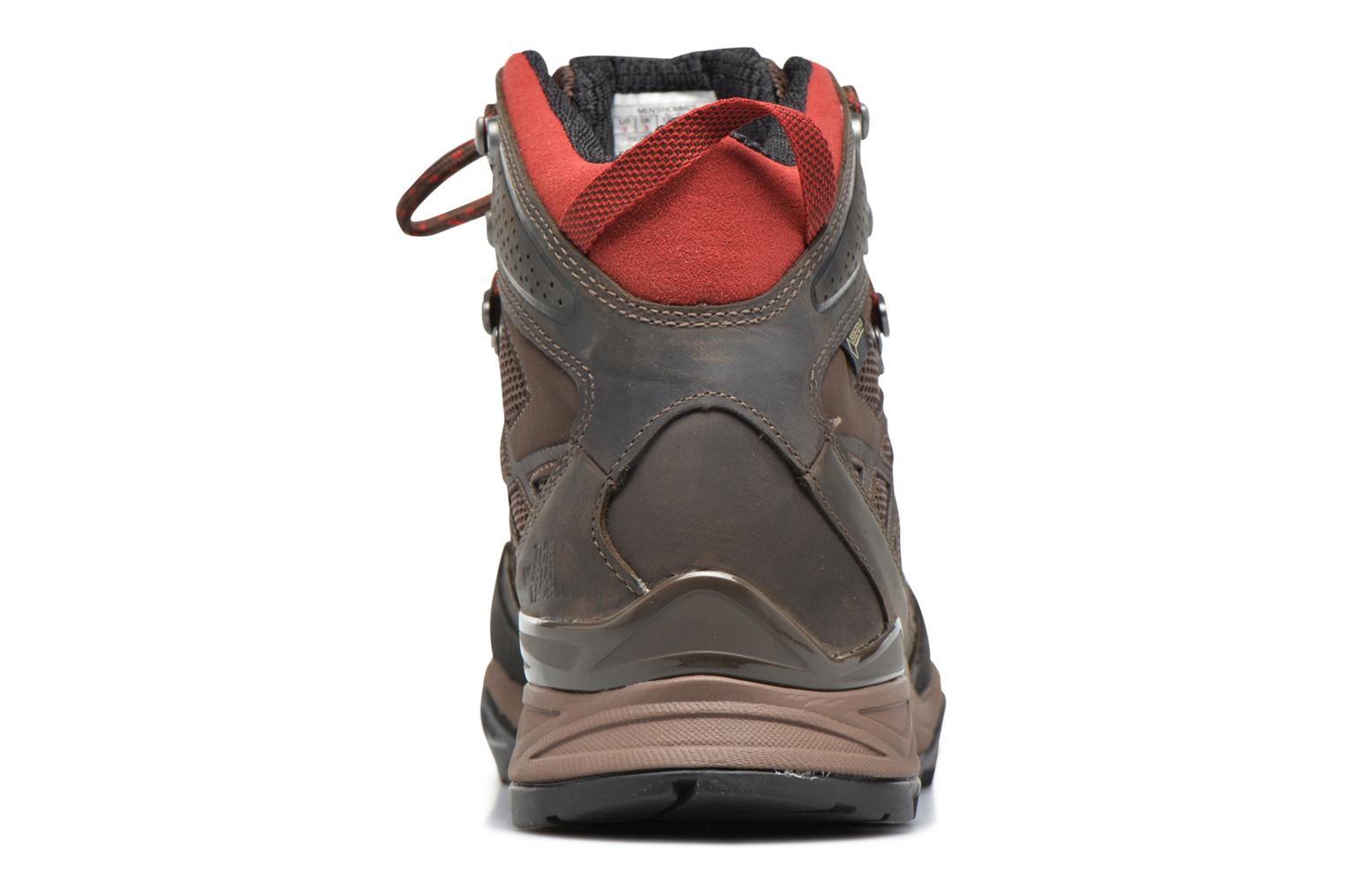 Chaussures de sport The North Face Hedgehog Hike Mid GTX Marron vue droite
