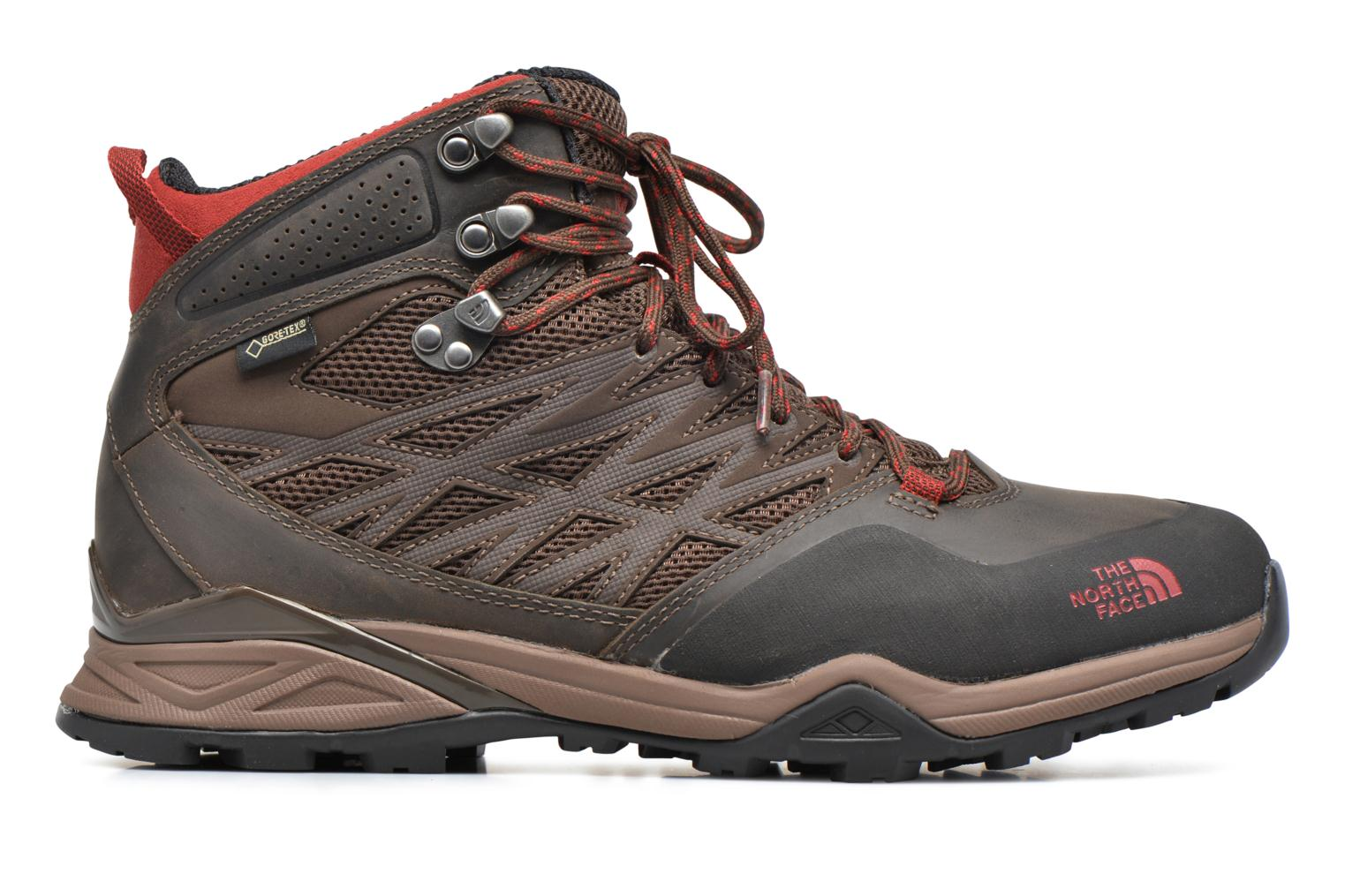 Chaussures de sport The North Face Hedgehog Hike Mid GTX Marron vue derrière