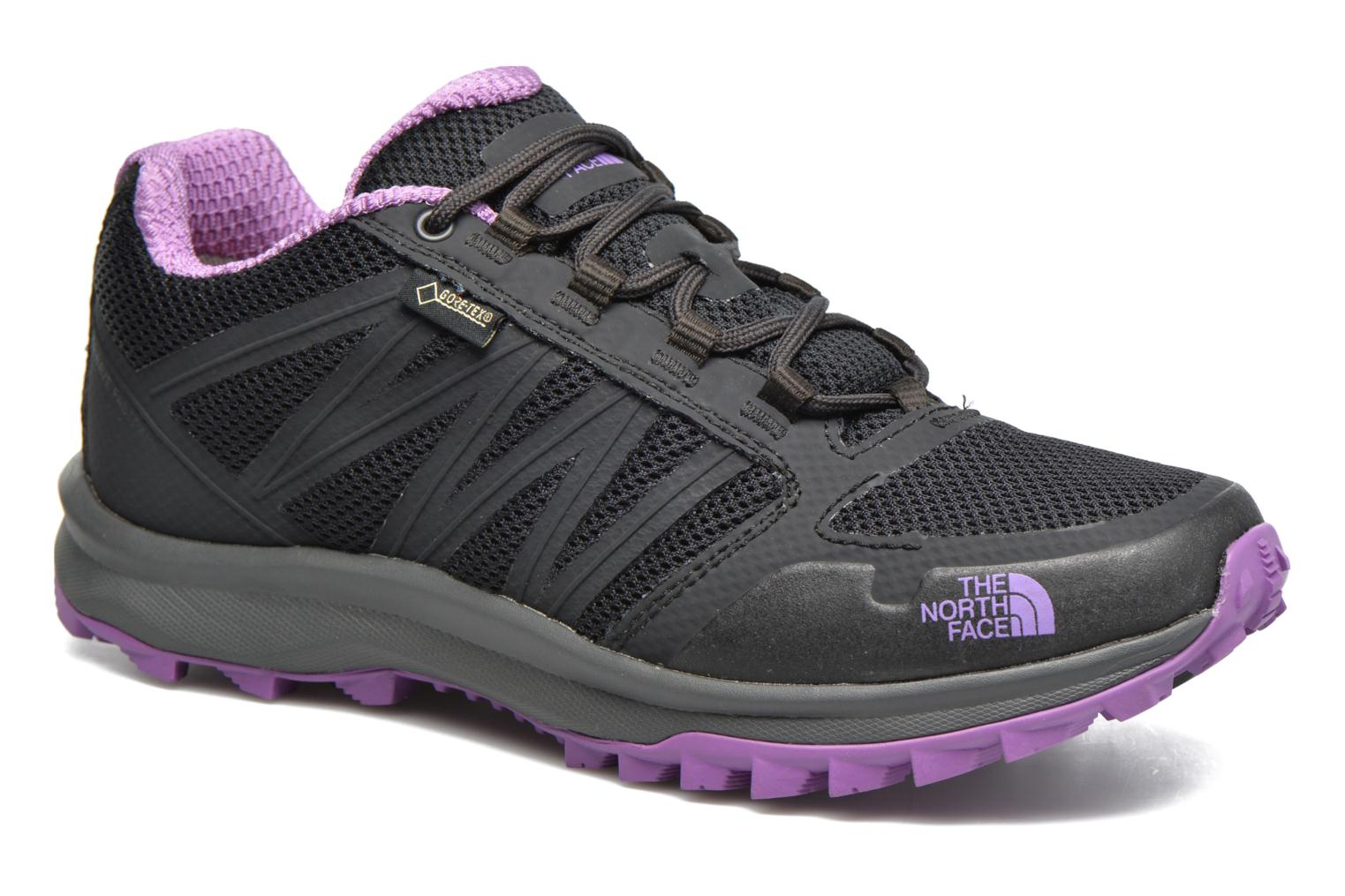 Sport shoes The North Face Litewave Fastpack GTX W Black detailed view/  Pair view