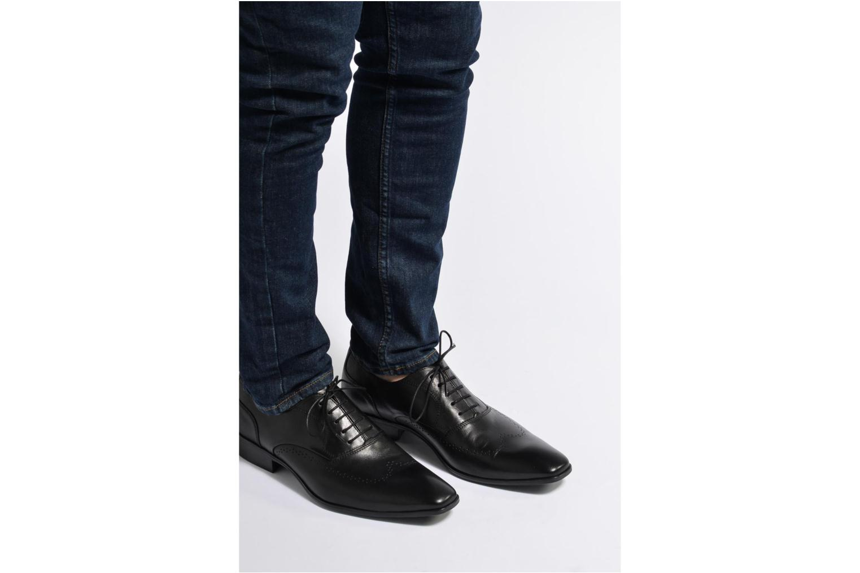 Chaussures à lacets Marvin&Co Romford Bleu vue bas / vue portée sac