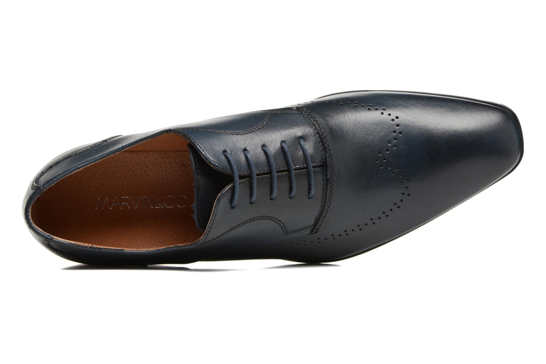 Chaussures à lacets Marvin&Co Romford Bleu vue gauche