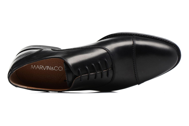 Scarpe con lacci Marvin&Co Richmond Nero immagine sinistra