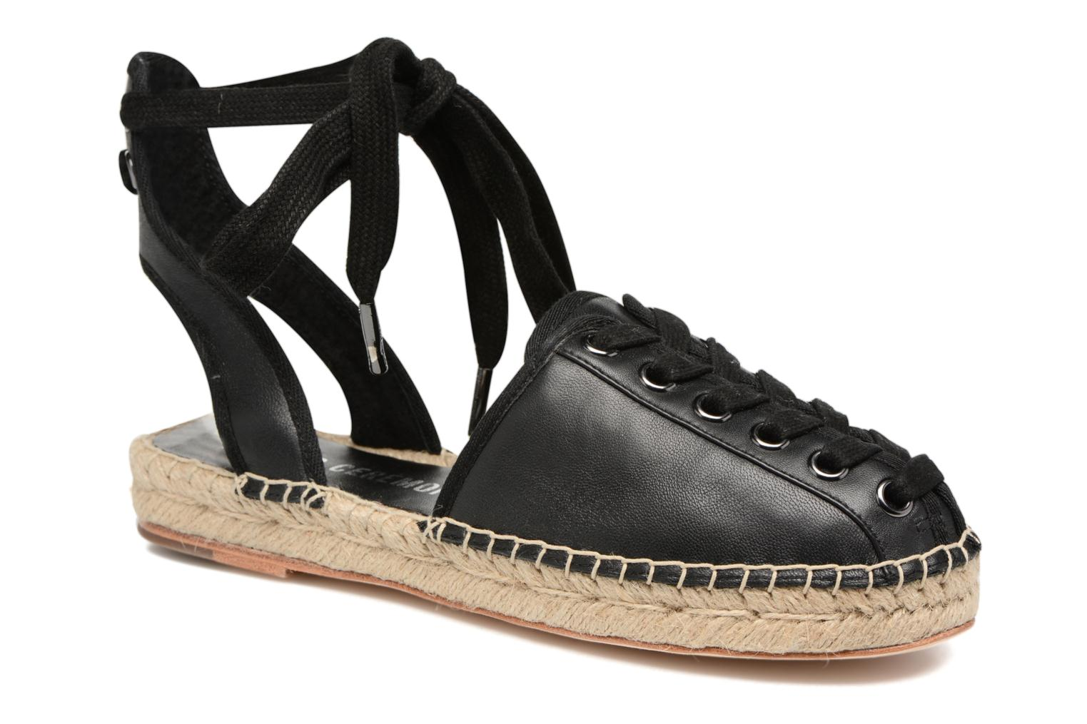 Marques Chaussure luxe femme Opening Ceremony femme Kahsea Espadrille Black