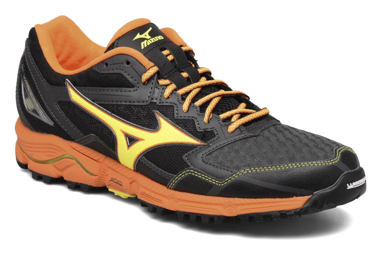 Chaussures de sport Mizuno Wave Daichi 2 Gris vue détail/paire