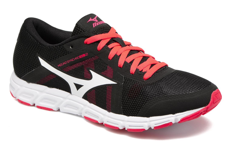 Chaussures de sport Mizuno Mizuno Synchro SL 2 W Noir vue détail/paire