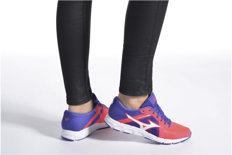 Chaussures de sport Mizuno Mizuno Synchro SL 2 W Orange vue bas / vue portée sac