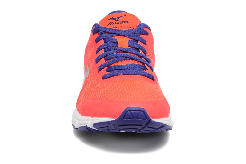 Chaussures de sport Mizuno Mizuno Synchro SL 2 W Orange vue portées chaussures