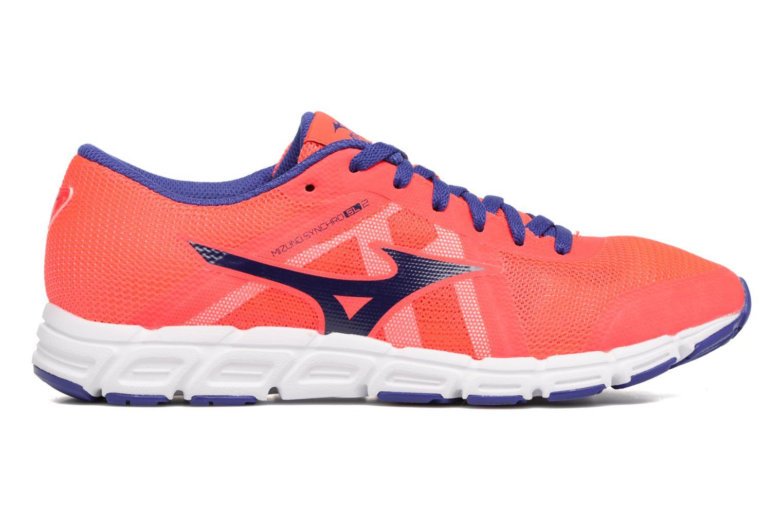 Chaussures de sport Mizuno Mizuno Synchro SL 2 W Orange vue derrière