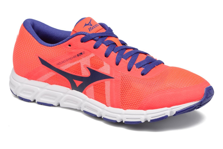 Chaussures de sport Mizuno Mizuno Synchro SL 2 W Orange vue détail/paire