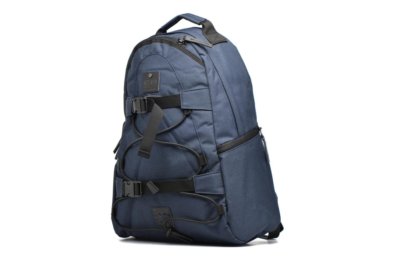 Sacs à dos Superdry Surplus goods backpack Bleu vue portées chaussures