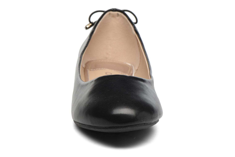 Grunge Bow Ballerina Black