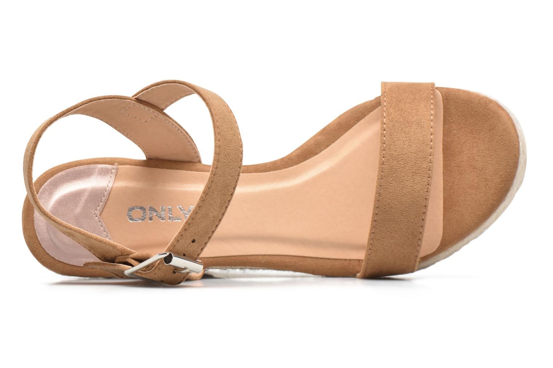 Amelia Etno Heeled Sandal Cognac