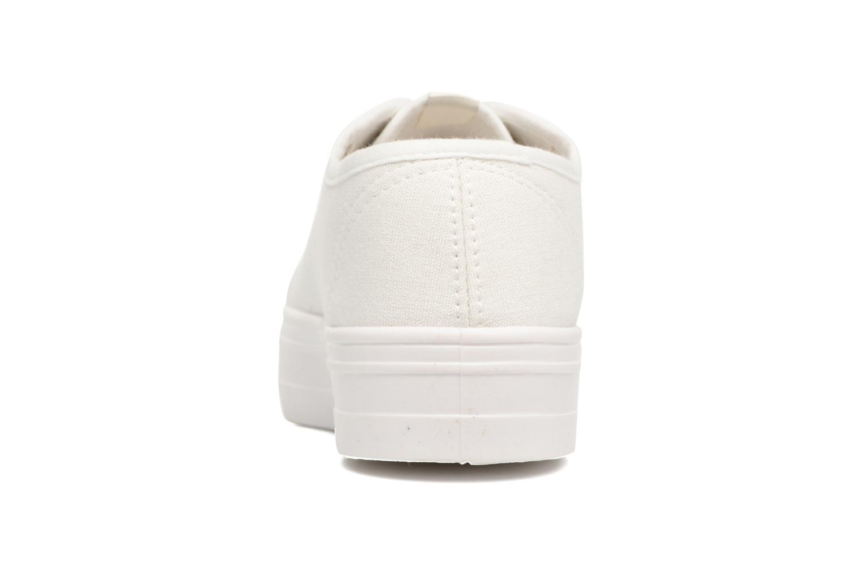 Baskets ONLY Sarina Plain Sneaker Blanc vue droite