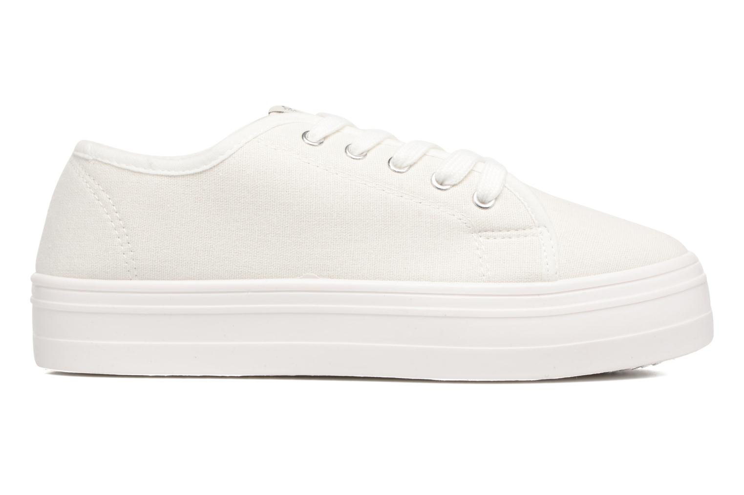 Sneakers ONLY Sarina Plain Sneaker Wit achterkant