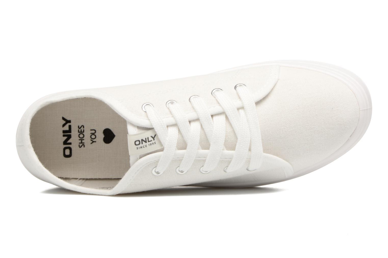 Sarina Plain Sneaker White