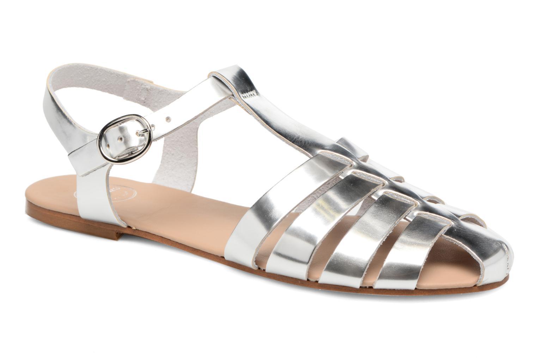 Sandalias Made by SARENZA Pastel Belle #1 Plateado vista lateral derecha