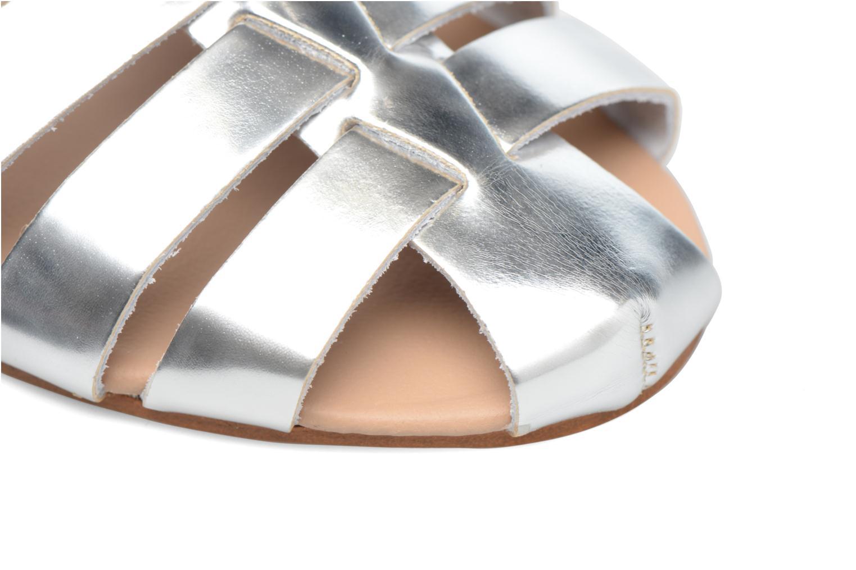 Sandalias Made by SARENZA Pastel Belle #1 Plateado vista lateral izquierda