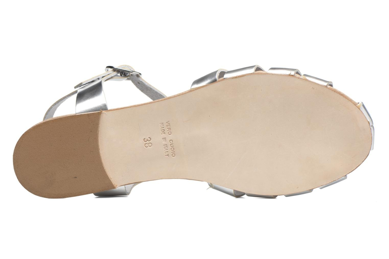 Sandalias Made by SARENZA Pastel Belle #1 Plateado vista de arriba