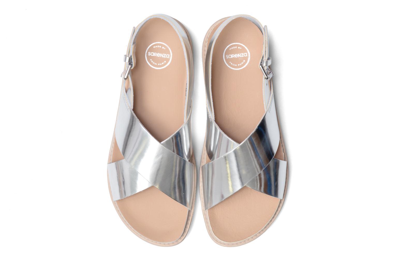 Sandales et nu-pieds Made by SARENZA Pastel Belle #8 Argent vue portées chaussures