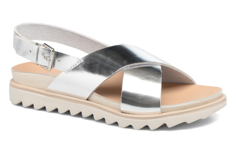 Sandales et nu-pieds Made by SARENZA Pastel Belle #8 Argent vue droite