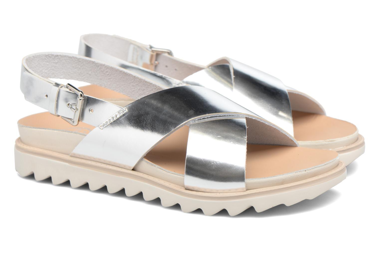 Sandales et nu-pieds Made by SARENZA Pastel Belle #8 Argent vue derrière