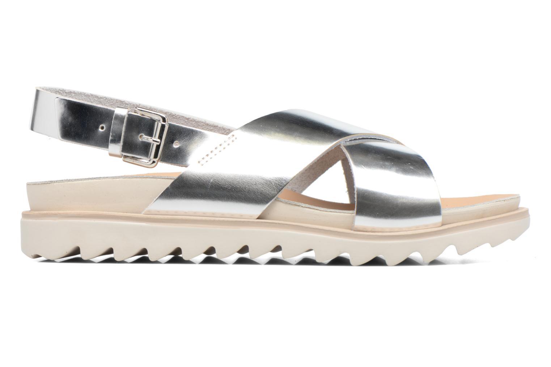 Sandales et nu-pieds Made by SARENZA Pastel Belle #8 Argent vue détail/paire