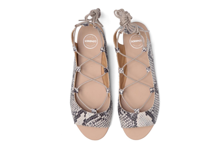 Sandales et nu-pieds Made by SARENZA Tennesse Sister #6 Beige vue portées chaussures