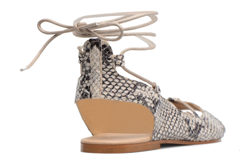 Sandales et nu-pieds Made by SARENZA Tennesse Sister #6 Beige vue face