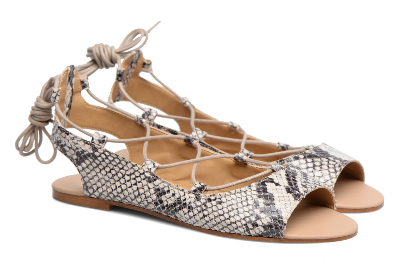 Sandales et nu-pieds Made by SARENZA Tennesse Sister #6 Beige vue derrière