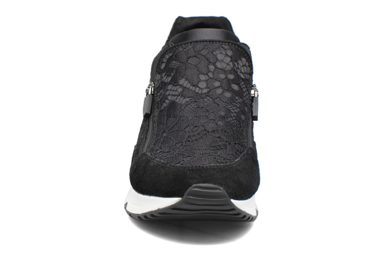 Baskets Ash Look Lace Noir vue portées chaussures