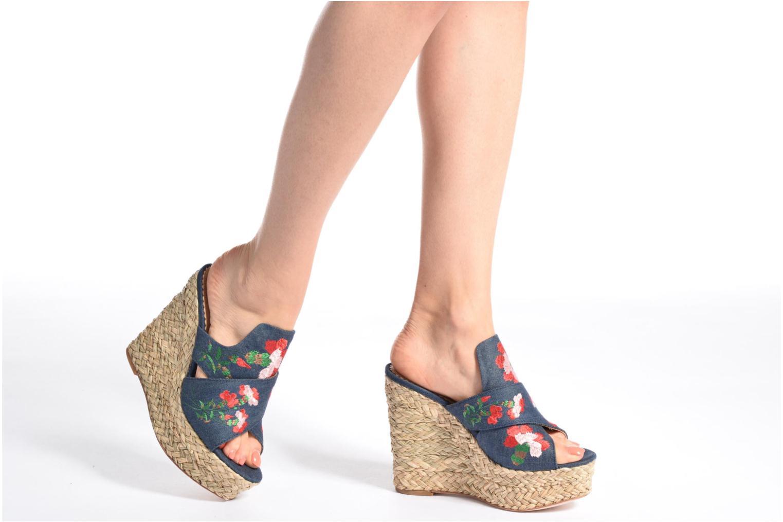 Sandales et nu-pieds Ash Bahia Sandal Multicolore vue bas / vue portée sac