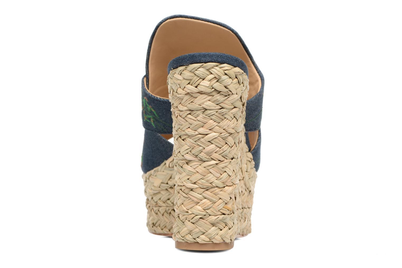 Sandales et nu-pieds Ash Bahia Sandal Multicolore vue droite