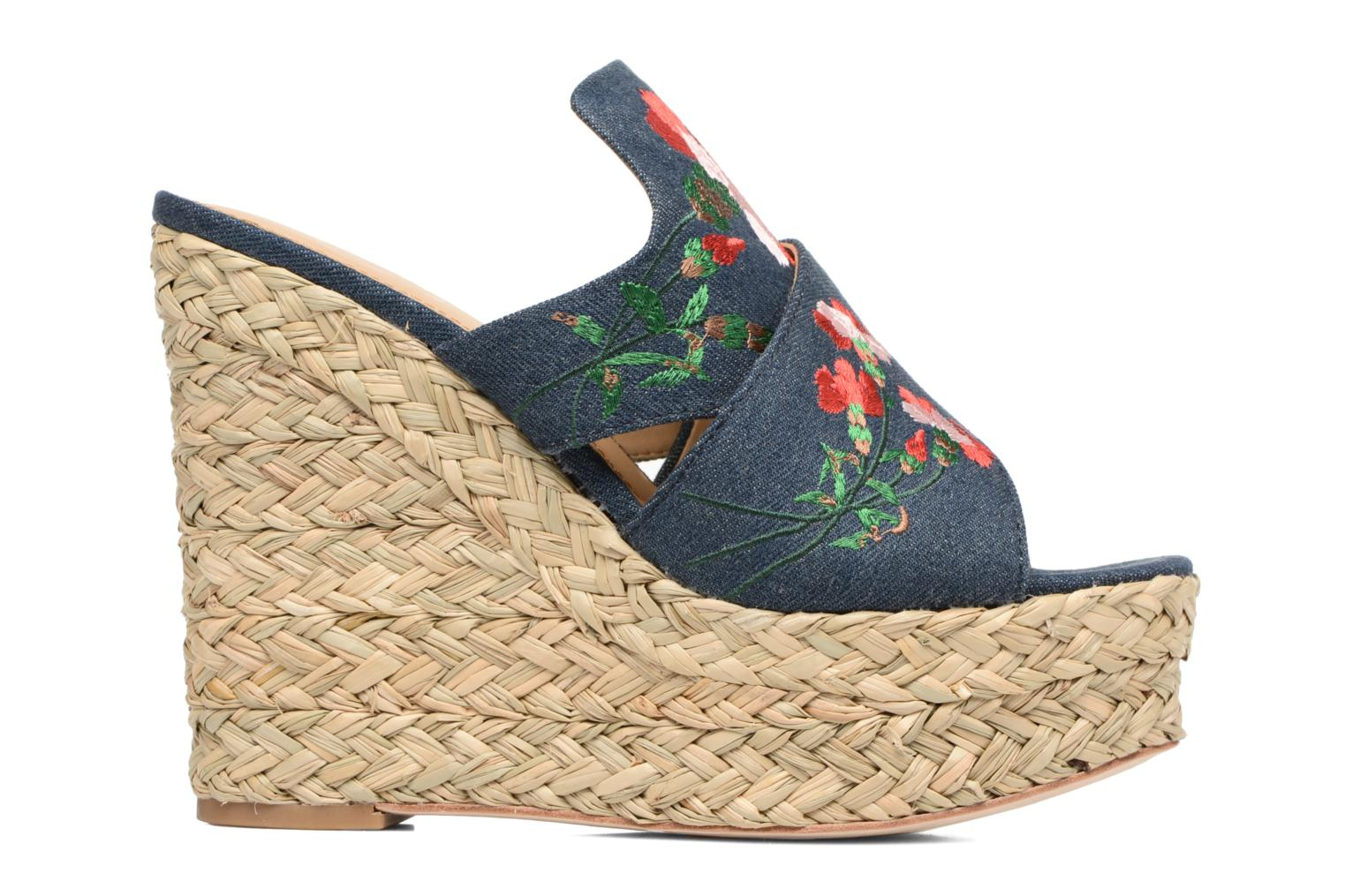 Bahia Sandal Washed Denim Blue