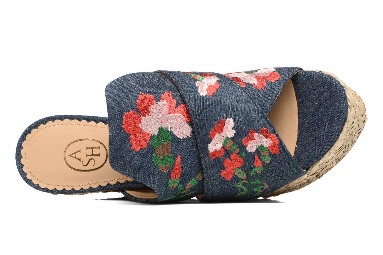 Sandales et nu-pieds Ash Bahia Sandal Multicolore vue gauche