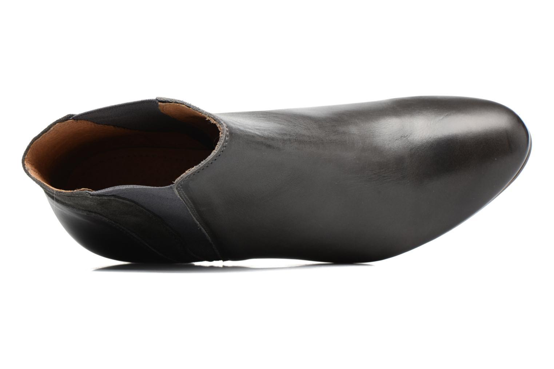 Bottines et boots Kickers Freddie Gris vue gauche