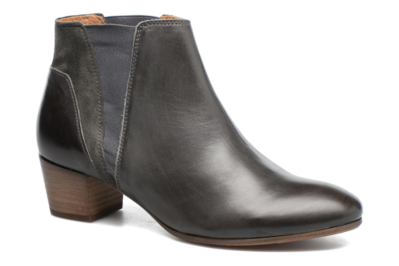 Bottines et boots Kickers Freddie Gris vue détail/paire