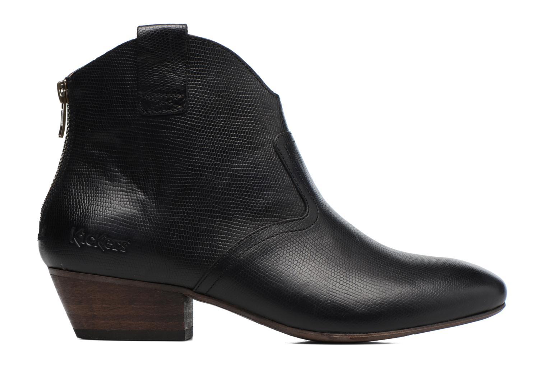 Bottines et boots Kickers Western Noir vue derrière